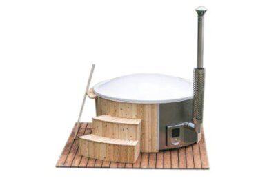 Hot tub kunststof geintregeerde kachel en deksel