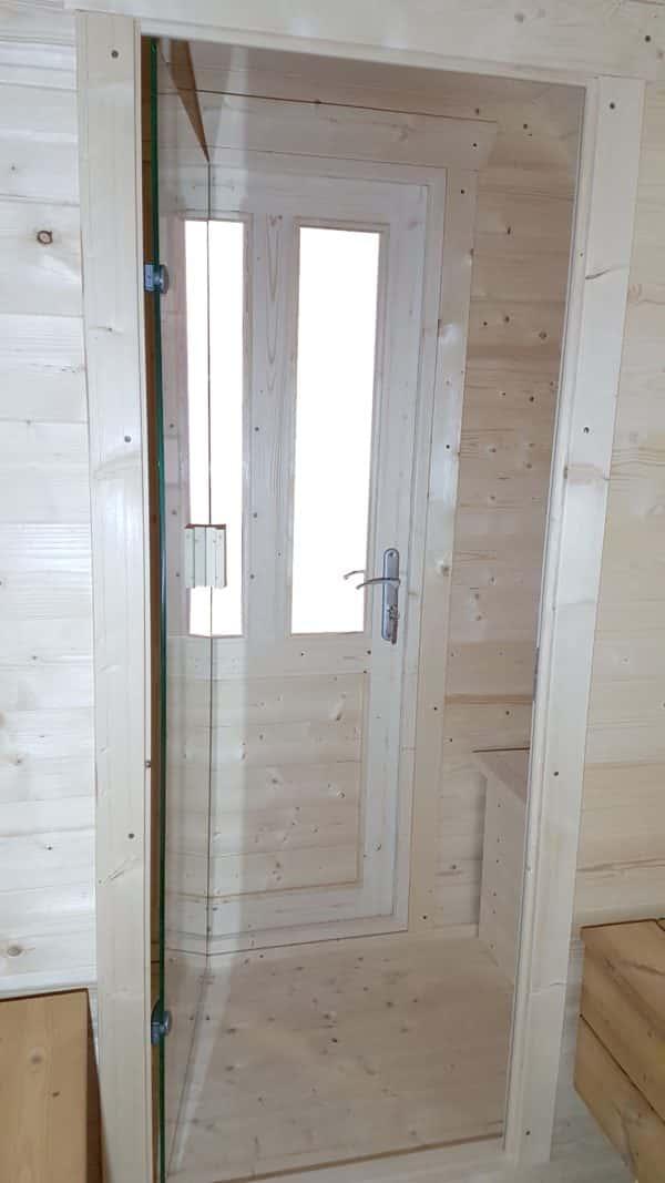 Pod sauna kleedruimte