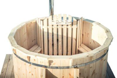 hot tub hout houtenrand