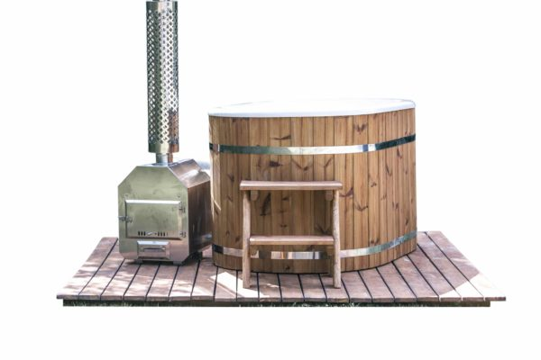 hot tub ofuro kunststof thermowood