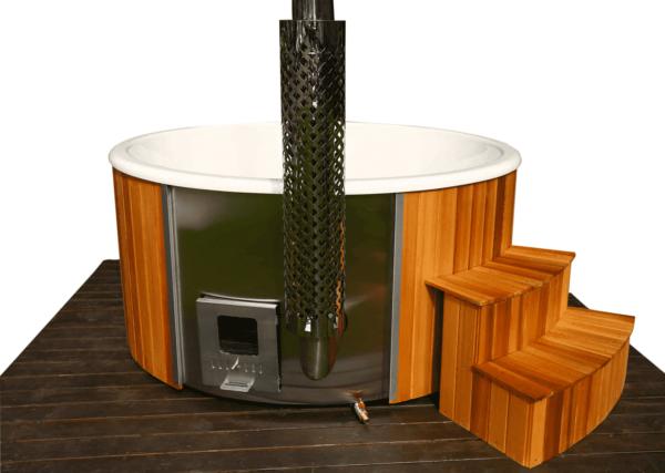 hot tub kunsstof red cedar