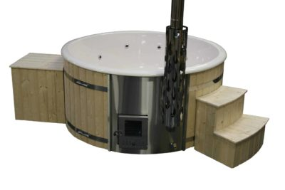 hot tub luxe grenen