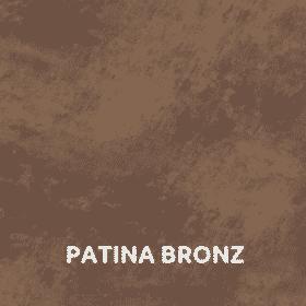 Patina bronz