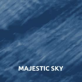Majestic sky