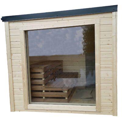 Cube sauna